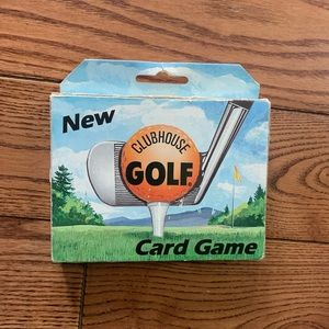 (3/$20) vintage clubhouse golf card game